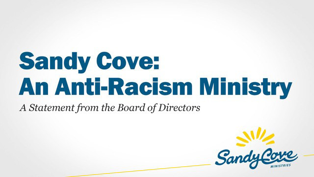 Sandy Cove: An Anti-Racism Ministry